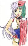 Yuri looks like Lucia