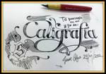 Callygraphy Love by DarkoJuan