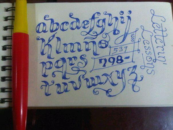 Calligraphy lessons by darkojuan on deviantart