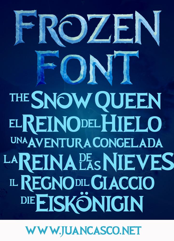 Frozen Movie Title-Frozen Roman Typeface by DarkoJuan on DeviantArt