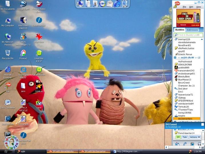 my desktop by xlovelyladyx