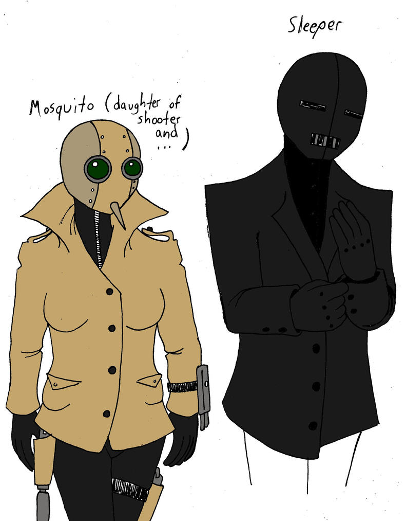 TBDK! Mosquito and Sleeper (future story) by UNlucky0013