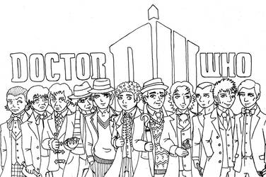 Doctor Who WIP 2 by UNlucky0013