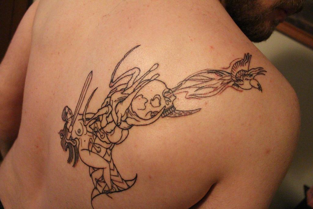 Tali's Tattoo by DerpJohnson