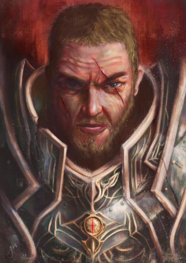Crusader of Light by jekowekow