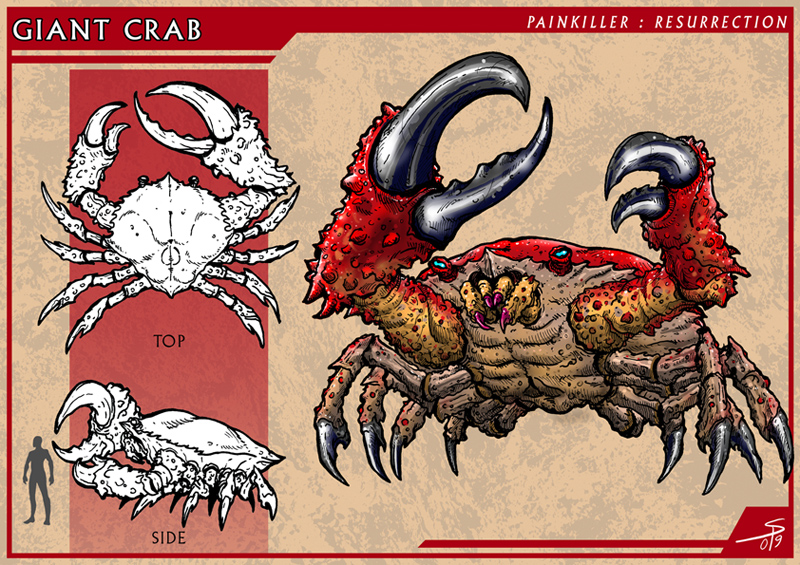 Giant Crab by PeterSiedlArt