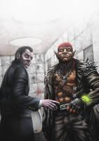 Shadowrun: Grim Gazes by PeterSiedlArt