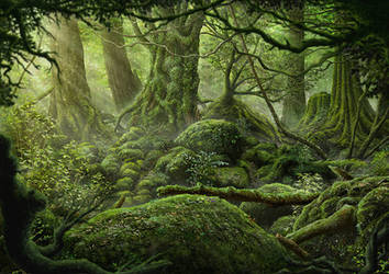 The Forest of the World by PeterSiedlArt
