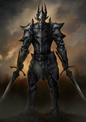 Dark Knight by PeterSiedlArt