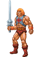 Pixel-He-Man by PeterSiedlArt