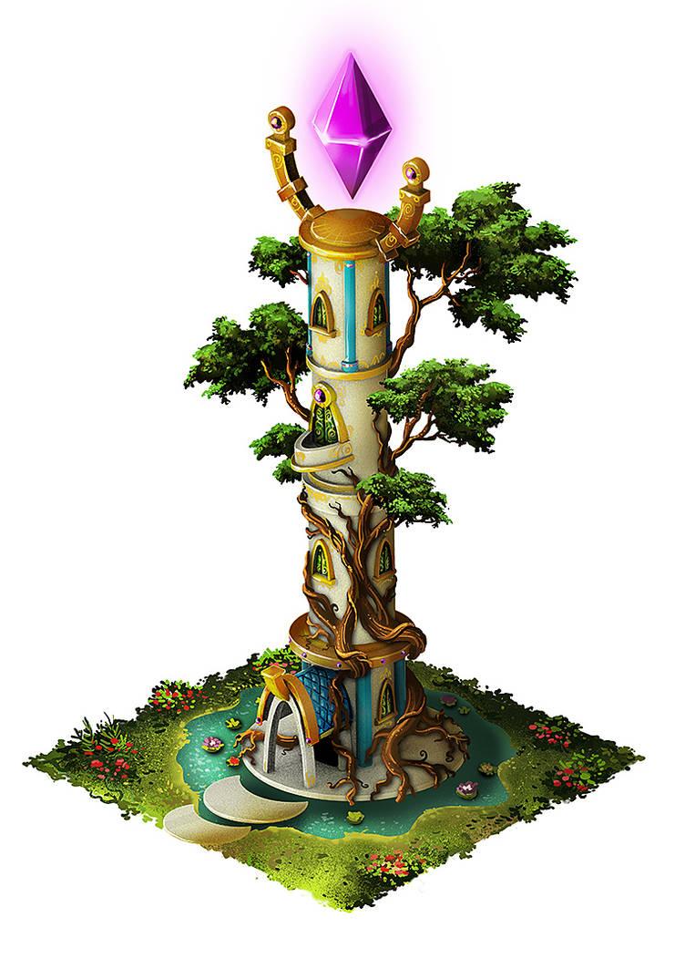 Magic Tower by PeterSiedlArt