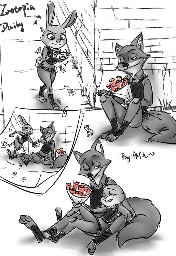 zootopia daily by WillowVO