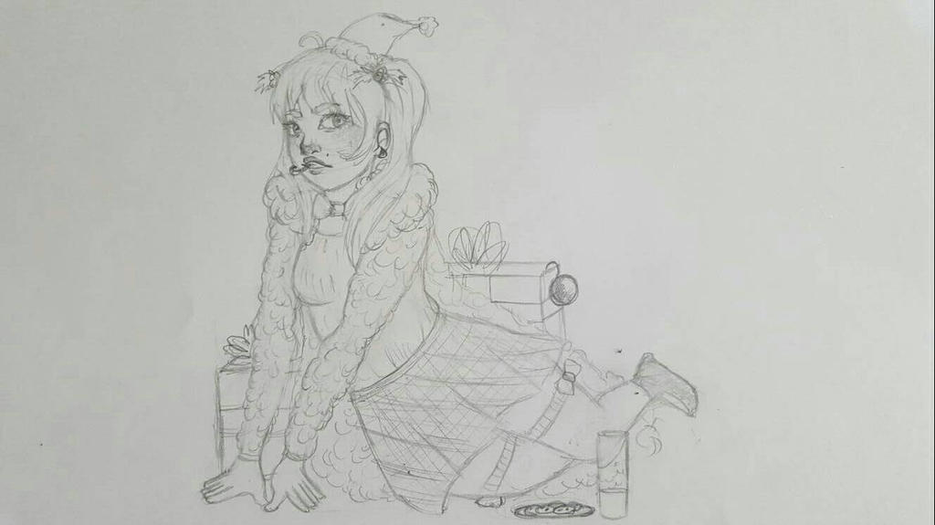Ivory Christmas Wip by cococolors