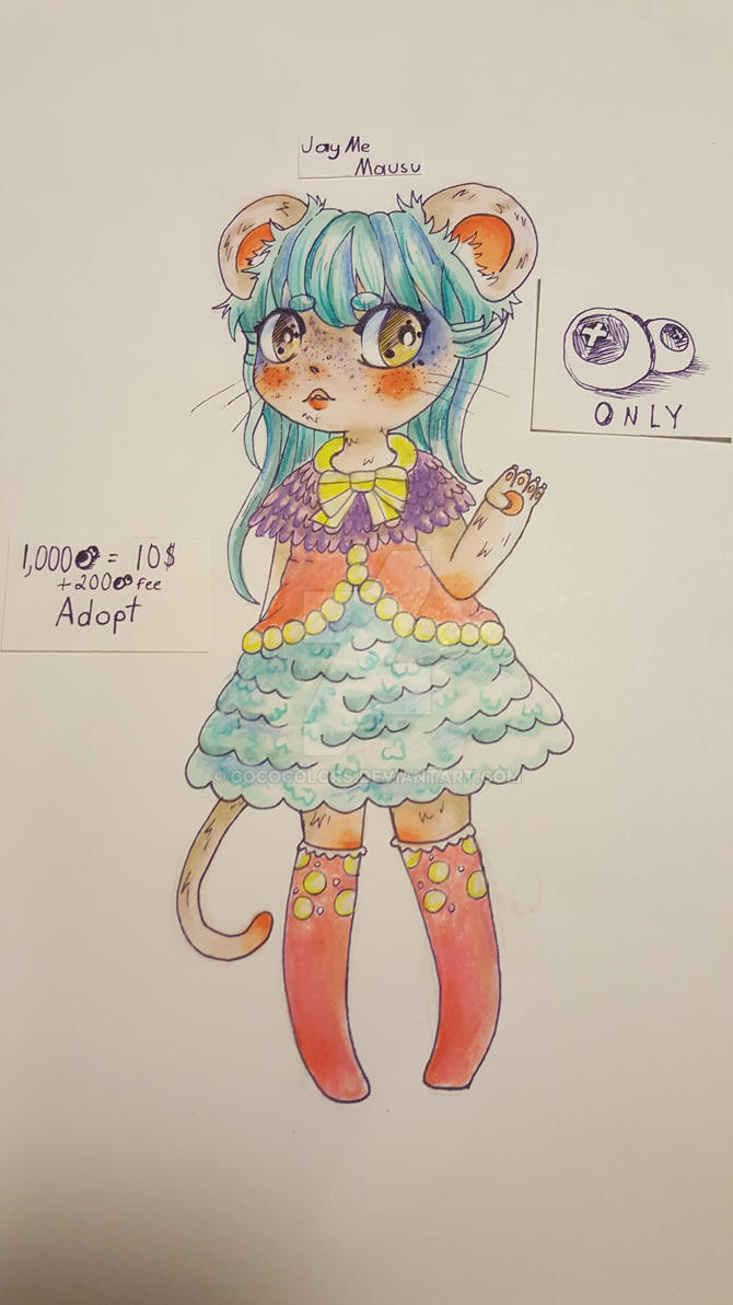 JayMe Mausu Adopt (open) by cococolors