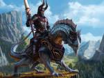 Purple Dragon knight