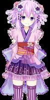 Yukata Sakura Kimono Neptune