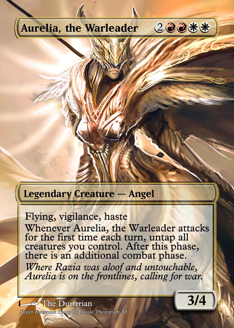Aurelia  the Warleader...