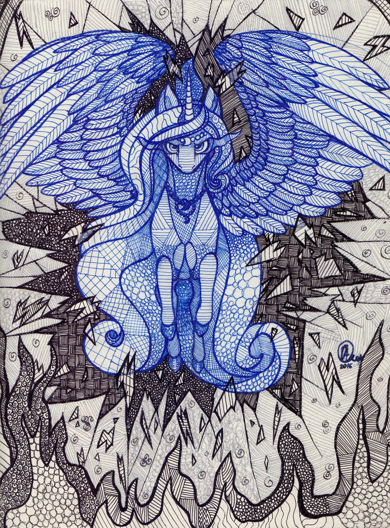 Princess Luna by KimSteinAndOther