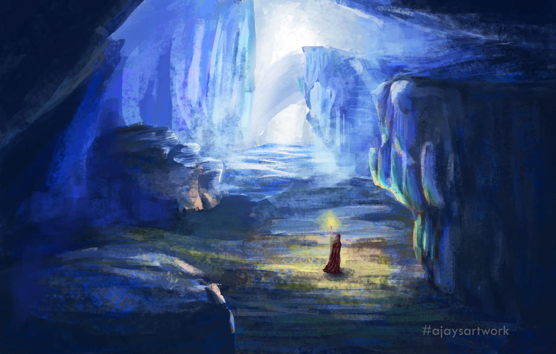 Wanderlust - glacier by ajaysartwork