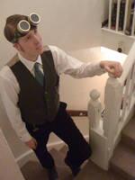 My steampunk goggles by raegar