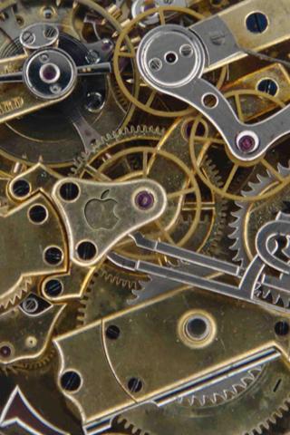 Clockwork Iphone Wallpaper By Raegar On Deviantart