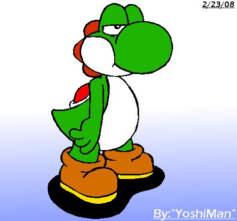 Yoshi Angry Pissed Yoshi by YoshiM...