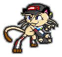 MP Fighting Pose Sprite by YoshiMan1118