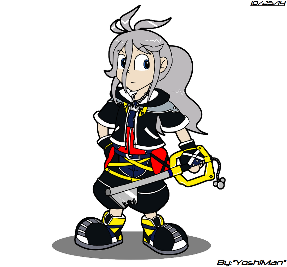 Yuichi the KeyBlader by YoshiMan1118