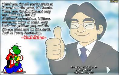 Rest In Peace Satoru Iwata