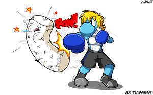 Punching Bag by YoshiMan1118