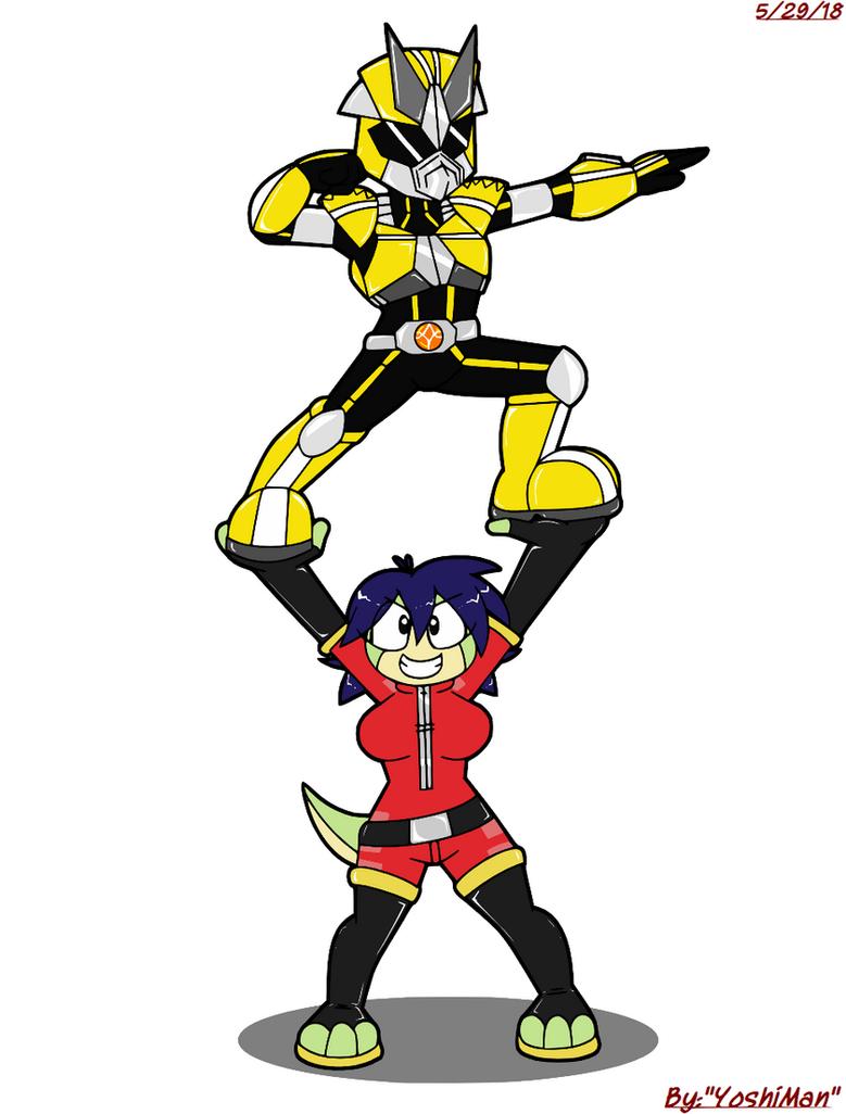 Friend Flex Formation X by YoshiMan1118