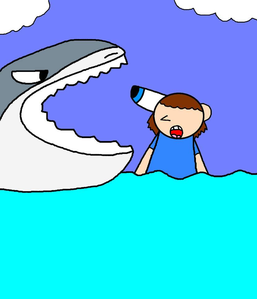30 Years of Shark Week Payback for Dario