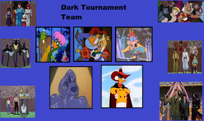 Team Fearsome 5(My Dark World Tournament Team) by Ilovefallingcows25