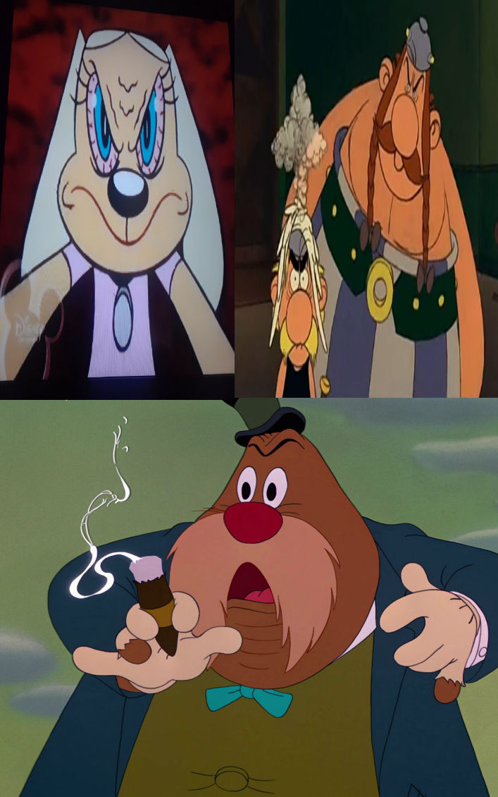 Brandy Asterix and Obelix Mad At the Walrus