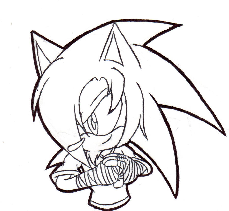 Gift: Sin the Hedgehog by PrototypeTheory
