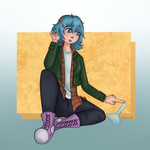 YN month 3: Alternative Outfit by IckyGross