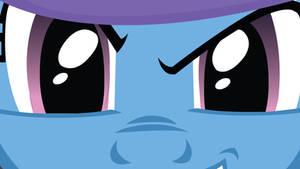 Trixie Glaring Wallpaper by EvilDocterMcBob