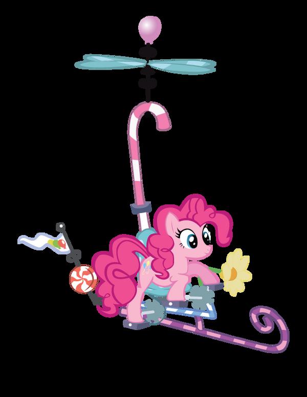 Pinkie Pie's Flying Contraptio by EvilDocterMcBob