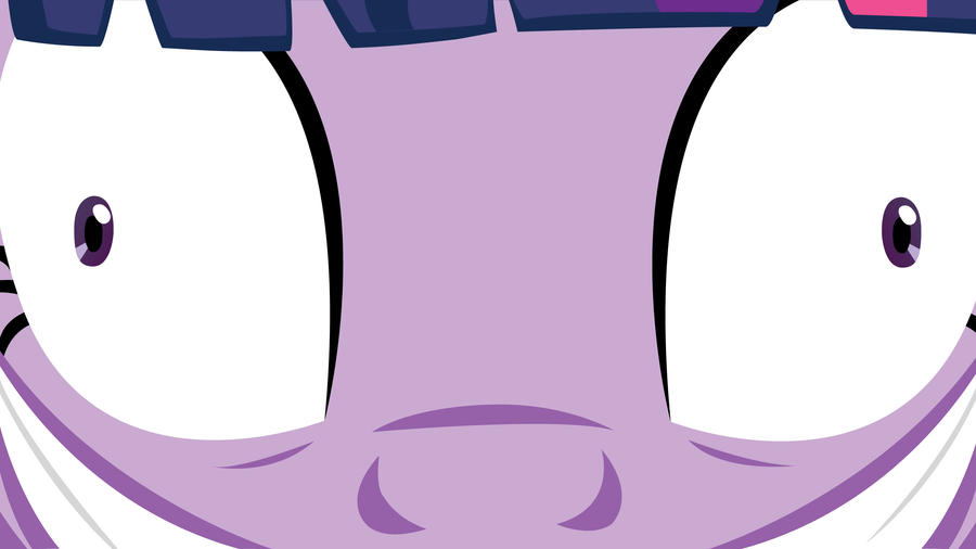 Mad Twilight Glaring Wallpaper by EvilDocterMcBob