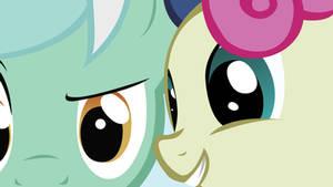 Lyra and Bon Bon Wallpaper