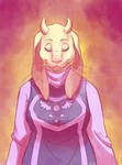 Toriel by Pipann