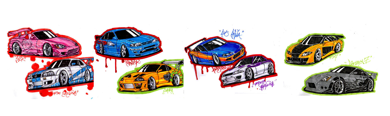 fast and furious cars part 1 by KrisDiaz on DeviantArt