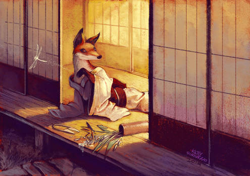 Japanese Fox volpe giapponese