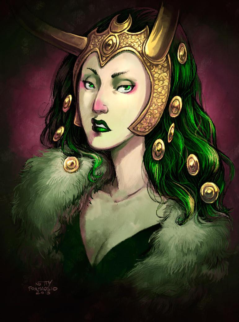 Lady Loki by kettyformaggio