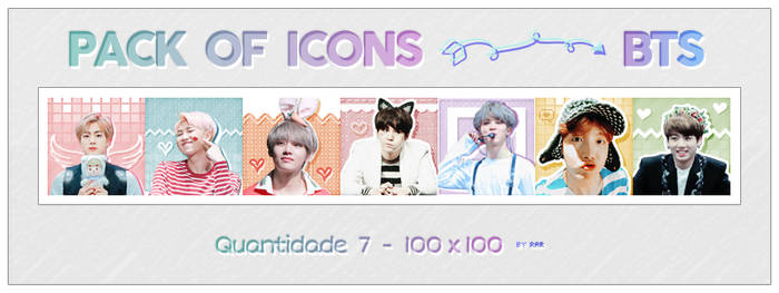 BTS ICONS - PACK 4