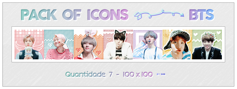 BTS ICONS - PACK 4 by RohARamos