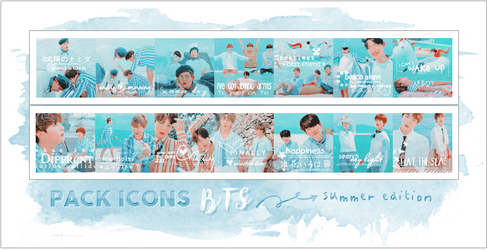 BTS ICONS - PACK SUMMER EDITION 2