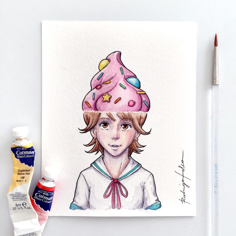 Cupcake Lady by rodrigofalco