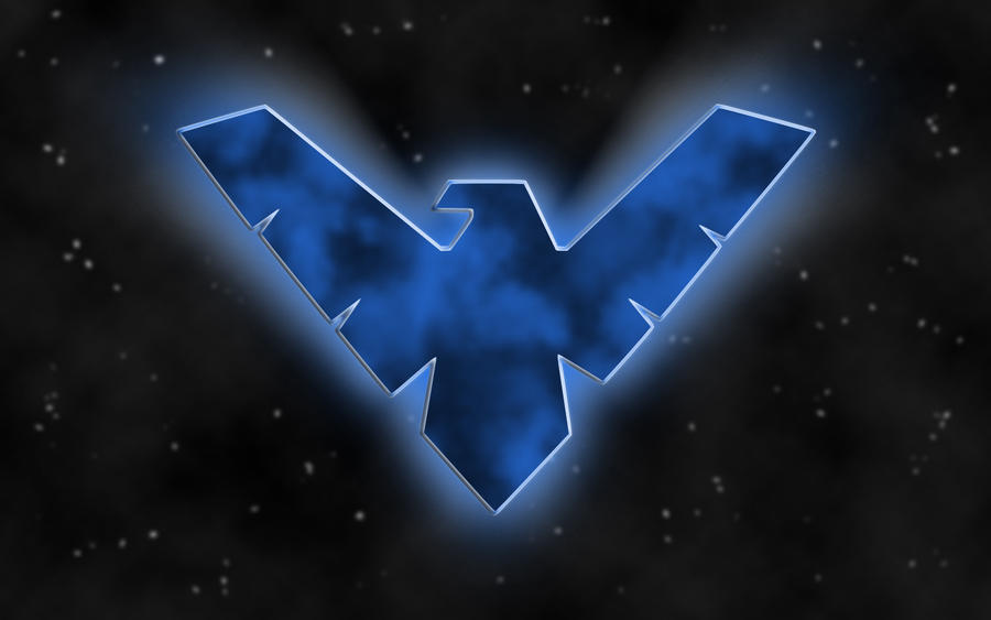 Nightwing Logo 2 by drtek90 on DeviantArt