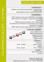 CV adil by scofi1d